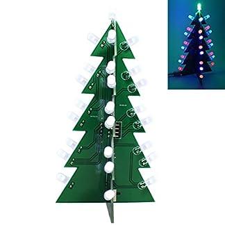 TOOGOO-DIY-Stern-Blinkender-Weihnachts-Baum-elektronische-Dekoration-Kit-Geschenke-der-Dekoration-LED-3D-Bunt