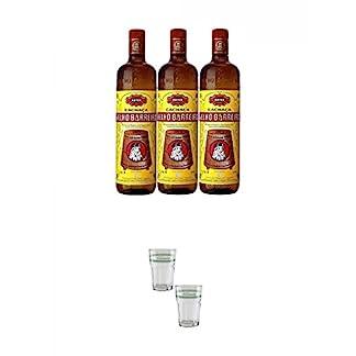 Velho-Barreiro-Silver-Cachaca-Originalabfllung-3-x-10-Liter-Velho-Barreiro-Caipirinha-Glas-2-Stck