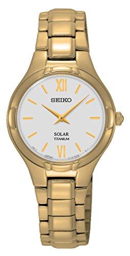 Seiko-Damen-Armbanduhr-Solar-Analog-Quarz-Titan-SUP282P1