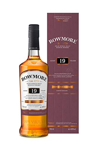 Bowmore-Islay-Single-Malt-Scotch-Whisky-19-Jahre-Limitierte-Edition-in-franzsischen-Barriquefssern-1-x-07l