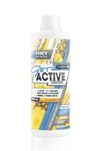 Frey Nutrition Get Active Drink – Ananas, 1er Pack (1 x 1 kg)