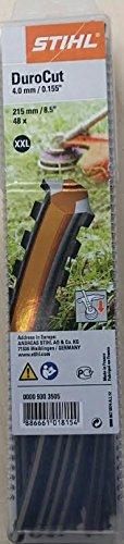 STIHL-Fadenstcke-DuroCut-40-4-gezahnt-215-mm-48-Stck-XXL