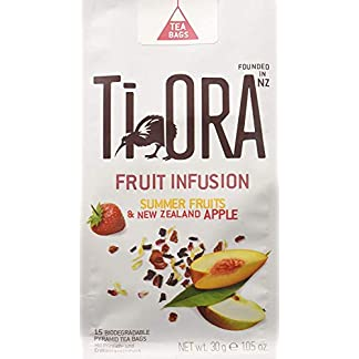 Ti-Ora-Fruits-Infusion-Summer-Fruit-New-Zealand-Apple-Frchtetee-4er-Pack-4-x-15-Teebeutel