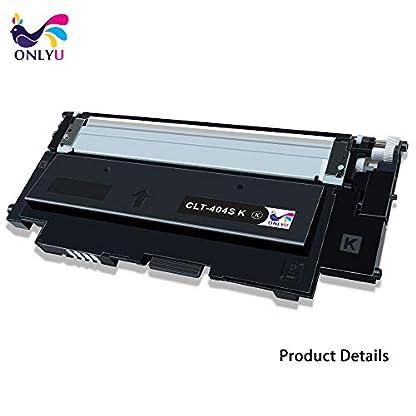 ONLYU-Toner-kompatibel-zu-Samsung-CLT-K404S-CLT-C404S-CLT-M404S-CLT-Y404S-fr-Samsung-SL-C430SL-C430WSL-C480SL-C480WSL-C480FNSL-C480FW