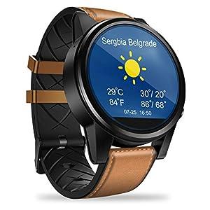 A-Artist-Smartwatch-Android-Quad-Core-1GB16GB-Bluetooth-Sportuhr-Intelligente-Armbanduhr-Wasserdicht-Tracker-Herzfrequenz-Schlafmonitor-und-Kalorienzhler-mit-Schrittzhler-Pulsuhr