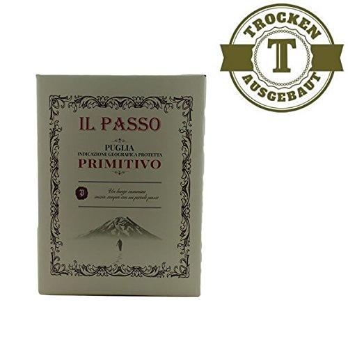 Rotwein-Il-Passo-Puglia-Primitivo-50-Liter-VERSANDKOSTENFREI