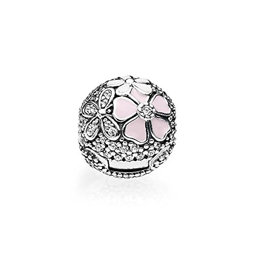 Stonebeads Malerische Blüten Clip Sterling Silber