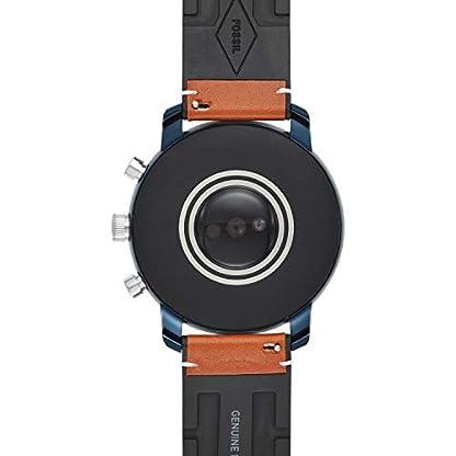 Fossil-Herren-Digital-Smart-Watch-Armbanduhr-mit-Leder-Armband-FTW4016