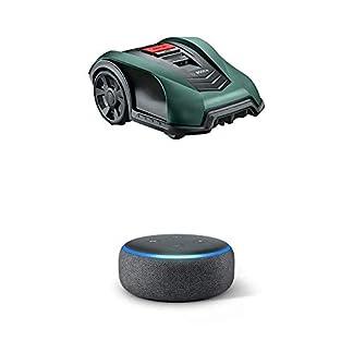 Bosch-Home-and-Garden-Rasenmher-Indego-S-350-19-cm-Schnittbreite-fr-Rasenflchen-bis-350-m-Amazon-Echo-Dot-3-Gen-Intelligenter-Lautsprecher-mit-Alexa-Anthrazit-Stoff