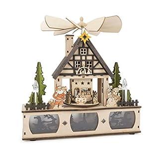 Lampe-mit-Weihnachtspyramide