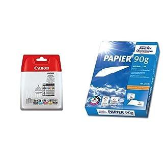 Canon-PG-580CLI-581-5-original-Tintenpatrone-BKCMYPGBK-fr-Pixma-Drucker-PIXMA-TR7550-TR8550-TS6150-TS8150-TS9150-TS6250-TS8250-TS9550