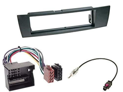 Alpine-UTE-202DAB-1-DIN-Autoradio-inkl-DAB-Antenne-USB-AUX-Spotify-fr-BMW-1er-E87-5Trer-2004-2007-schwarz