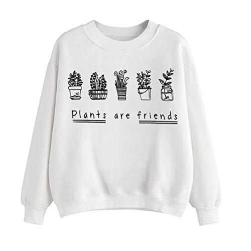 Amlaiworld-damen-mit-aufdruck-Topfpflanzen-locker-Sweatshirt-komfortabel-Winter-Herbst-sport-pulli-warm-weich-pulloverplants-are-friends