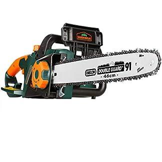 Gardebruk-Elektrische-Kettensge-2800-Watt-46cm-Oregon-Schwert-Qualittskette-Rckschlagbremse-autom-Kettenschmierung-Motorsge