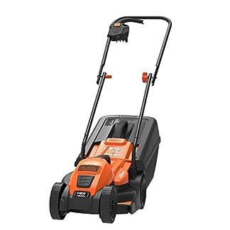 BlackDecker-Edge-Max-Elektro-Rasenmher-EMAX32-1200W-32-cm-Schnittbreite-E-Drive-Technologie-35l-Grasfangbehlter-schwarz-orange