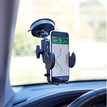 AmazonBasics-Kfz-Handyhalterung-fr-Windschutzscheibe-und-Armaturenbrett-geeignet-fr-Smartphones-und-Navigationsgerte