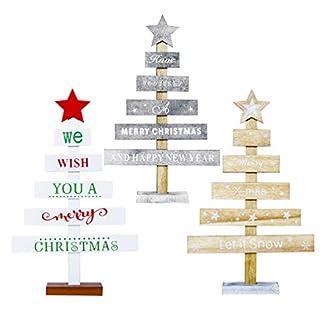 Amosfun-3-Stcke-Mini-Holz-Weihnachtsbaum-mit-Stern-Tischnummern-Kleine-Tannenbaum-Christbaum-Deko-Weihnachten-Tischdeko-Weihnachtsdeko-Baum