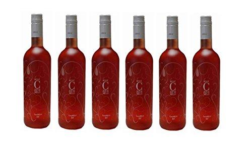 6x-Caramelo-Rose-lieblich-750ml-10-Vol-Tsantali-lieblicher-griechischer-Rosewein-aus-Griechenland-2x-10ml-Probiersachet-Olivenl-von-Kreta