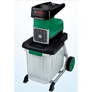 Ferrex-Elektro-Gartenhcksler-2800-W-Hcksler-m-Fangbox-60-lLeisehcksler