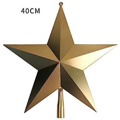 Unbekannt-Weihnachtsbaum-Stern-Christbaumspitzen-Christbaumschmuck-25cm-40cm