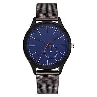 Einfache-Armbanduhr-Damen-Herren-Allgemeine-Freizeit-Quarzuhr-Uhr-Analoguhren-Geschenke-Weihnachten-Javpoo