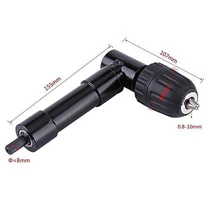 90-Grad-Bohrerweiterung-Chuck-rechtwinklig-Bohren-Adapter-Aluminiumlegierung-8mm-Welle-Elektrische-Bohrmaschine-Erweiterung-Werkzeug-MEHRWEG-VERPACKUNG