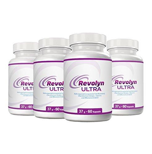 Revolyn Ultra – Schlankheitspille für effizienten Gewichtsverlust | Jetzt das 4-Flaschen-Paket mit Rabatt kaufen | (4 Flaschen)