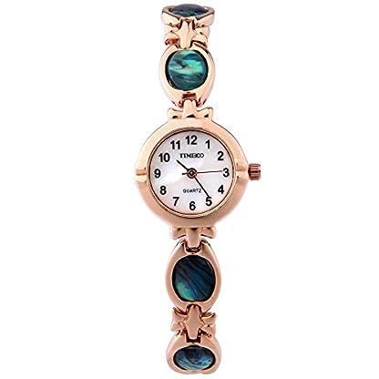 Time100-Armbanduhr-Damenuhr-Quarzuhr-Mdchenuhr-Edelstahl-Gold-W50130L02AN