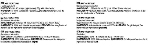 BULK POWDERS Maltodextrin, 2.5 kg