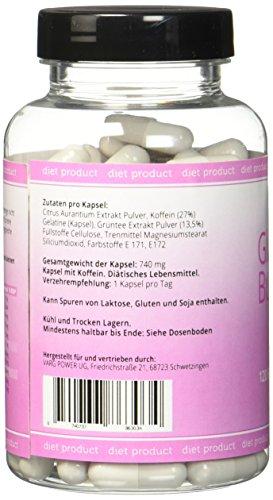 Glucose Burner – Das Original – 120 Kapseln – Schlankheitskur – Einfach abnehmen