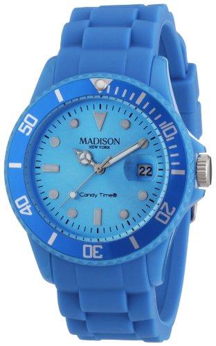 Madison-New-York-Unisex-Armbanduhr-Candy