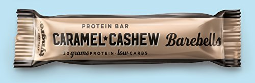 Barebells Protein Bar Caramel Cashew, 12 x 55 g