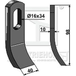 Schlegelmesser-Mulchermesser-98-x40-x10-mm-63-MUL-54-passend-fr-Mulag-Mulcher