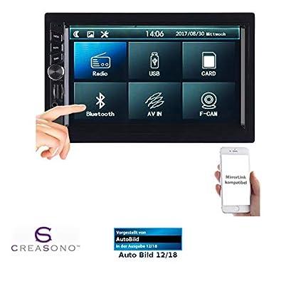 Creasono-Doppel-DIN-Radio-2-DIN-MP3-Autoradio-mit-Touchdisplay-Bluetooth-Freisprecher-4X-45-W-Auto-Radio-DIN-2