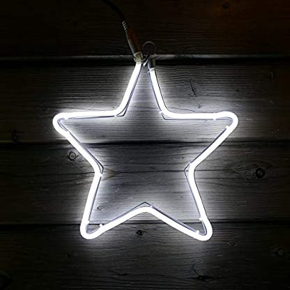 Neon-Lichtschlauchfiguren-mit-LED-beleuchtet-zur-Deko-Weihnachten-auen