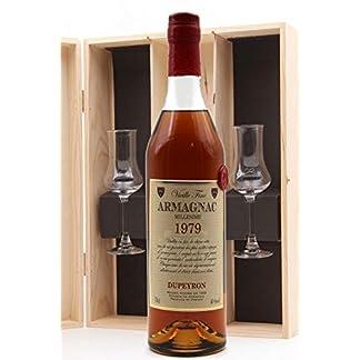 Coffret-Bas-Armagnac-Ryst-Dupeyron-1979-2-Verres-70cl