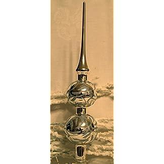 Christbaumspitze-Elegance-silber-mundgeblasen-handbemalt-von-Jingle-Bells-Lauscha