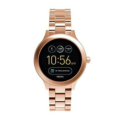 Fossil-Damen-Smartwatch-Q-Venture-3-Generation-EdelstahlStylische-Uhr-mit-SmartfunktionenFr-Android-iOS