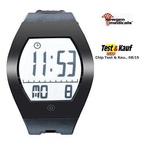 newgen-medicals-Sportuhr-E-Ink-Fitness-Tracker-FBT-100-3Du-mit-BT-40-Smartwatches