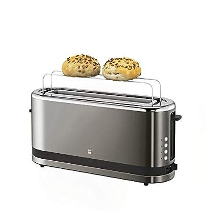 WMF-Kchenminis-Langschlitz-Toaster-integrierter-Brtchenwrmer