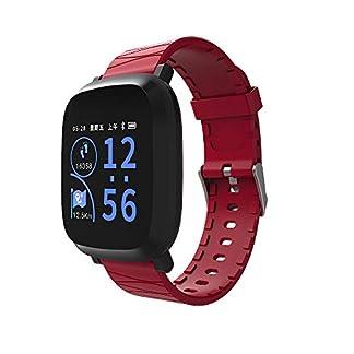 VRTUR-Damen-Herren-Bluetooth-Smartwatch-Wasserdicht-Fitness-Smart-Watch-Fitness-Tracker-Sport-Armbanduhr-Schrittzhler-Schlaf-MonitorHerzfrequenzSportmodus-Uhr