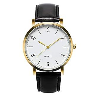 Cysincos-Unisex-Klassisch-Armbanduhr-Quarz-Analog-Mnner-Handgelenk-Uhren-mit-PU-Leder-Armband-Einfach-Quarzuhr-fr-Damen-und-Herren