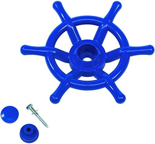 Lenkrad-Schiff-Boot-Steuerrad-Kinder-Spielzeug-blau