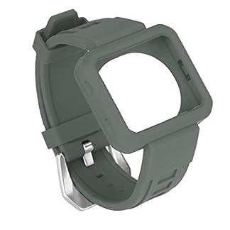 Armbnder-Mit-Schutzhlle-fr-Fitbit-BlazeVNEIRW-Silikon-Ersatzarmbnder-Ersatz-Uhrenarmband-Strangarmbnder-Aktivittstracker-Uhrarmbnder
