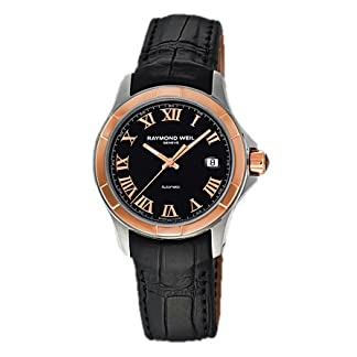 Raymond-Weil-Parsifal-Automatic-Stainless-Steel-18kt-Rose-Gold-Mens-Watch-2970-SC5-00208