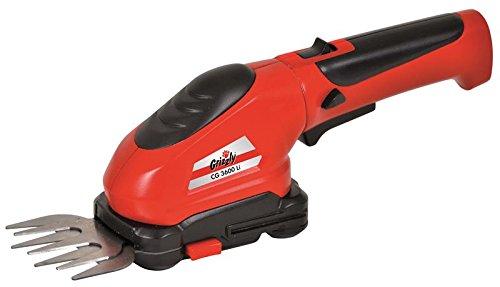 Grizzly-Akku-Gras-Schere-Strauch-Schere-36-V-13-AH-Akku-Grasmesser-8-cm-Strauchmesser-12-cm-werkzeugloser-Messerwechsel-inkl-Messerschutz-und-Ladegert