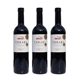 3x-Thraki-Mavroudi-Spar-Set-Rotwein-trocken-je-750ml-135-Tsantali-griechischer-roter-Wein-aus-Chalkidiki-6-Monate-gereift-10ml-Olivenl-Testsachet