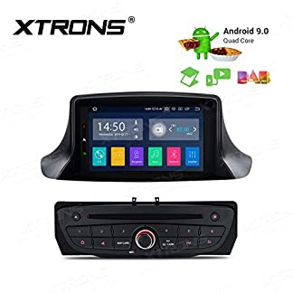 XTRONS-7-Android-Autoradio-HD-Touch-Screen-Android-90-Quad-Core-DVD-Player-Voll-RCA-Ausgang-Autostereo-untersttzt-4G-Bluetooth-2GB-RAM-16GB-ROM-DAB-OBD2-TPMS-geeignet-FR-Renault