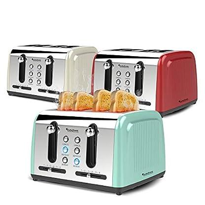 4-Scheiben-Langschlitz-Toaster-mit-1500W-Aufwrm-Auftaufunktion-inkl-Brtchenaufsatz-Krmelschublade-Retro-Design