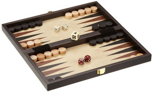 Philos-2511-Reise-Schach-Backgammon-Dame-Set-Feld-30-mm-Knigshhe-47-mm